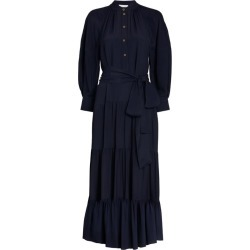 Chloé Gathered Maxi Dress found on MODAPINS from harrods.com for USD $2992.59
