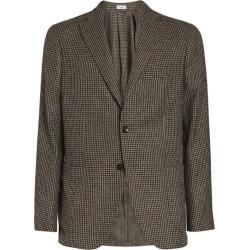 Boglioli Check Single-Breasted Blazer found on MODAPINS from harrods.com for USD $1099.43
