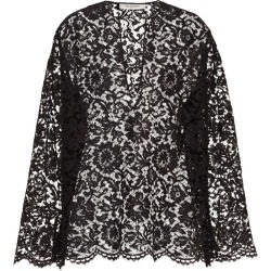 Valentino Long-Sleeved Lace Top found on Bargain Bro UK from harrods.com