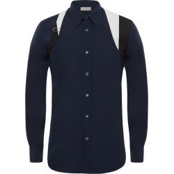 Alexander McQueen Harness-Detail Shirt found on MODAPINS from harrods.com for USD $642.32