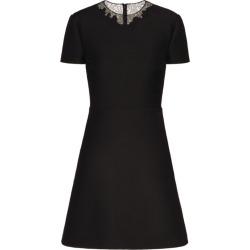 Valentino Lace Crepe Mini Dress found on Bargain Bro UK from harrods.com