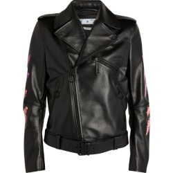Off-White Marker Arrows Leather Jacket found on Bargain Bro from Harrods Asia-Pacific for USD $1,929.59