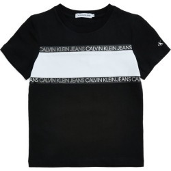 Calvin Klein Kids Logo-Tape T-Shirt (4-16 Years) found on Bargain Bro UK from harrods.com