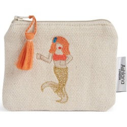 Ashiana Jewellery Mermaid Embroidered Coin Purse found on MODAPINS from Harrods Asia-Pacific for USD $11.80