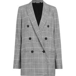 AllSaints Astrid Check Blazer found on Bargain Bro UK from harrods.com