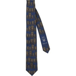 Fornasetti Silk Civette Tie found on MODAPINS from harrods (us) for USD $122.00