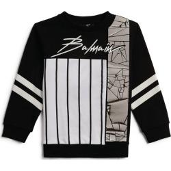 Balmain Kids Metallic Signature Sweatshirt (4-16 Years) found on Bargain Bro UK from harrods.com