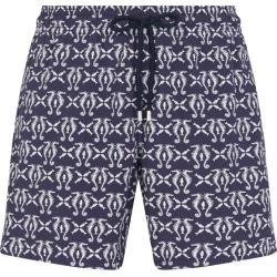 Vilebrequin Seahorse Print Swim Shorts found on Bargain Bro UK from harrods.com
