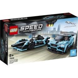 Lego Speed Champions Panasonic Jaguar Racing Cars Set