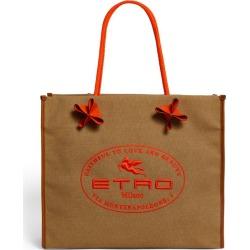Etro Logo Tote Bag found on Bargain Bro UK from harrods.com