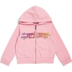Ermanno Scervino Junior Floral Logo Hoodie found on Bargain Bro India from Harrods Asia-Pacific for $203.36