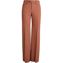Chloé Flared Tailored Trousers found on Bargain Bro UK from harrods.com