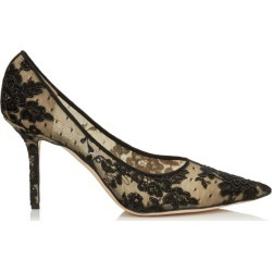 Jimmy Choo Love 85 Floral Lace Pumps found on Bargain Bro UK from harrods.com