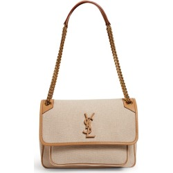 Saint Laurent Medium Niki Canvas And Leather Shoulder Bag found on GamingScroll.com from Harrods Asia-Pacific for $2609.79