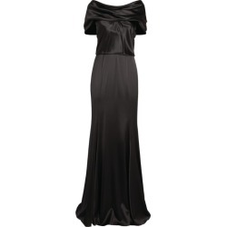 Dolce & Gabbana Draped Silk Gown found on Bargain Bro UK from harrods.com