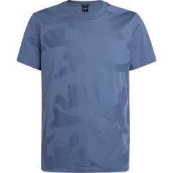 BOSS Cotton Camouflage Print T-Shirt found on Bargain Bro UK from harrods.com