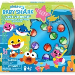 Spinmaster Games Baby Shark Fishing Game found on Bargain Bro from harrods.com for £15