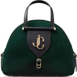 Jimmy Choo Medium Suede Varenne Bowling Bag found on Bargain Bro from harrods.com for £781