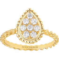 Boucheron Yellow Gold Serpent Bohème S Motif Ring found on MODAPINS from harrods.com for USD $3607.06