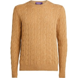 Ralph Lauren Purple Label Cashmere Cable-Knit Sweater found on Bargain Bro India from harrods (us) for $983.00