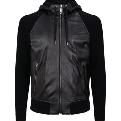 Dolce & Gabbana Leather Bomber Jacket found on Bargain Bro UK from harrods.com
