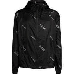 Boss All-Over Logo Water-Repellent Hooded Jacket found on Bargain Bro India from Harrods Asia-Pacific for $107.59