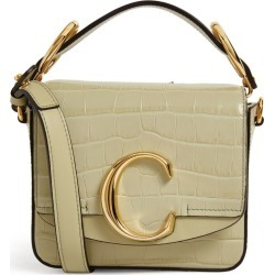 Chloé Mini Embossed Leather Chloé C Bag found on Bargain Bro from harrods.com for £1182