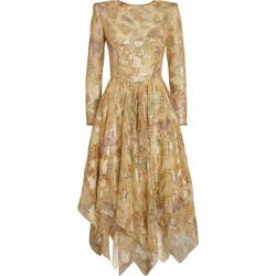 Etro Metallic Silk Paisley Dress found on Bargain Bro UK from harrods.com