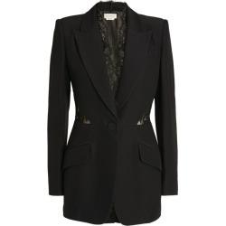 Alexander McQueen Lace Insert Blazer found on Bargain Bro UK from harrods.com