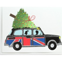 Verrier London Holiday Taxi Christmas Card found on Bargain Bro UK from harrods.com