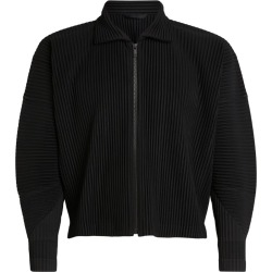 Homme Plissé Issey Miyake Plissé Zip-Up Jacket found on MODAPINS from harrods.com for USD $539.46