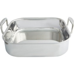 Le Creuset 3-Ply Stainless Steel Roaster (26Cm) found on Bargain Bro India from harrods (us) for $162.00