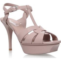 Saint Laurent Patent Tribute Sandals 75 found on Bargain Bro UK from harrods.com