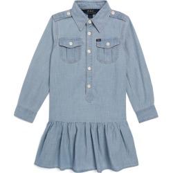 Ralph Lauren Kids Peplum Hem Dress (7-16 Years) found on Bargain Bro UK from harrods.com