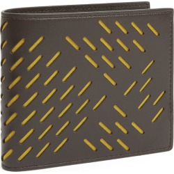 Bottega Veneta Leather Bifold Wallet found on Bargain Bro UK from harrods.com