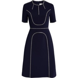 Huishan Zhang Violet Crystal-Embellished Dress found on MODAPINS from harrods.com for USD $1138.62