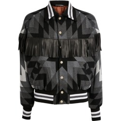 Palm Angels Arizona Fringed Bomber Jacket found on Bargain Bro India from Harrods Asia-Pacific for $2041.32