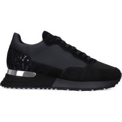 Mallet Suede Mesh Popham Sneakers found on MODAPINS from harrods.com for USD $241.53