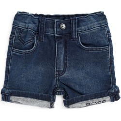 Boss Kidswear Logo-Detail Denim Shorts (3-36 Months) found on GamingScroll.com from Harrods Asia-Pacific for $74.81
