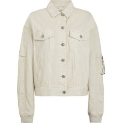 AllSaints Denim Frankie Bomber Jacket found on Bargain Bro UK from harrods.com