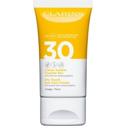 Clarins Dry Touch Sun Care Cream Face SPF 30 (50ml) found on Bargain Bro UK from harrods.com