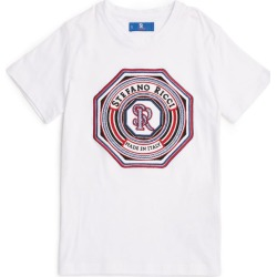 Stefano Ricci Kids Logo Embroidery T-Shirt found on Bargain Bro India from Harrods Asia-Pacific for $263.18