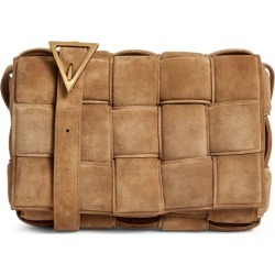Bottega Veneta Suede Cassette Cross-Body Bag found on Bargain Bro UK from harrods.com