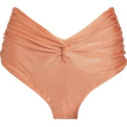 Patbo Ruched High-Waist Bikini Bottoms found on MODAPINS from Harrods Asia-Pacific for USD $148.57