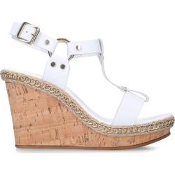 Carvela Leather Karolina Wedge Sandals 95 found on Bargain Bro UK from harrods.com