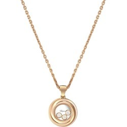 Chopard Rose Gold and Diamond Happy Emotions Pendant