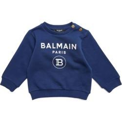Balmain Kids Monogram Logo Sweatshirt (3-24 Months) found on Bargain Bro UK from harrods.com
