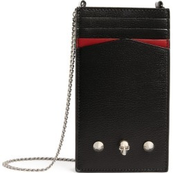 Alexander McQueen Leather Chain Phone Case found on Bargain Bro UK from harrods.com