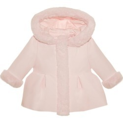 Patachou Faux Fur Trim Hooded Jacket (1-18 Months) found on Bargain Bro UK from harrods.com