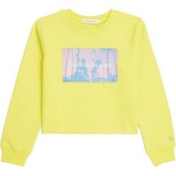 Calvin Klein Kids Printed Sweatshirt (4-16 Years) found on Bargain Bro UK from harrods.com